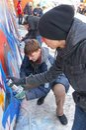 Graffiti jam Royalty Free Stock Photography