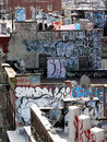 Graffiti ny Obraz Stock