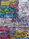 Graffiti on the old berlin wall Royalty Free Stock Photo