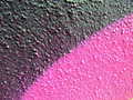 Graffiti pink black swipes Stock Photo