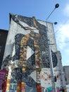 Graffiti & ruins Stock Image