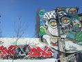 Graffiti & ruins Stock Photography