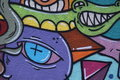 Graffiti -Street Art Royalty Free Stock Photo