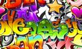 Graffiti Urban Art Background Royalty Free Stock Photo