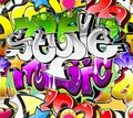 Graffiti Urban Art Background Royalty Free Stock Images