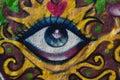 Grafitti Eye Royalty Free Stock Photo