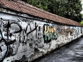 Grafitti on the wall Royalty Free Stock Photo