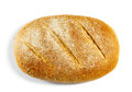 Grain bread loaf of isolated on white background Stock Images