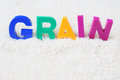 Grain concept Royalty Free Stock Image