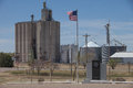 Grain Elevators in the Heartland Royalty Free Stock Photo