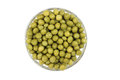 Grain green peas Stock Photos