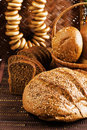 Grain products Stock Image