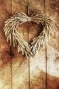 Grain Wreath Royalty Free Stock Photo