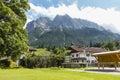 Grainau Village in Germany, editorial