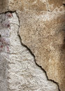 Grainy broken concrete wall background rough sandy Stock Photo