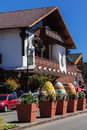 Gramado Festival Palace Eastern Brazil Royalty Free Stock Images