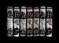 Grammar concept for english language Stock Photography
