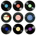 Gramophone records Royalty Free Stock Photos