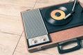 Gramophone vintage Royalty Free Stock Photo