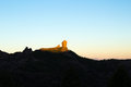 Gran Canaria, Caldera de Tejeda, morning light Royalty Free Stock Photo