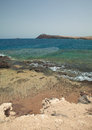 Gran canaria playa de el cabron at the south Royalty Free Stock Image