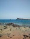 Gran canaria playa de el cabron at the south Royalty Free Stock Photo