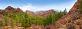Gran Canaria Tejeda La culata mountains Royalty Free Stock Photo
