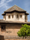 Granada andalucia spain may part of the alhambra palace i in on Royalty Free Stock Photo