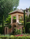 Granada andalucia spain may part of the alhambra palace i in on Stock Images