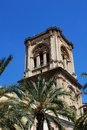 Granada cathedral bell tower. Royalty Free Stock Photo