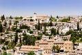 Granada City, Spain Royalty Free Stock Photo