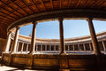 Granada Coliseum top balcony ornate ceiling Stock Image