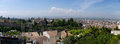 The granada panorama of city andalucia spain Royalty Free Stock Photos
