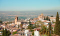 Granada view from the albayzin andalusia spain Stock Photography