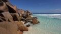 Grand Anse , La Digue island , Seychelles Royalty Free Stock Photo
