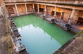 Grand Bath chez Roman Baths Photos libres de droits