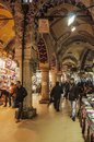 Grand bazaar istanbul february people and shops inside the on february in istanbul turkey Royalty Free Stock Photos