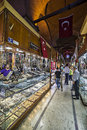 Grand bazaar istanbul turkey may people and tourists visit and shopping in on may is in fatih district of Royalty Free Stock Photos