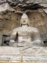 Grand buddha statue Royalty Free Stock Images