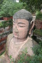 Grand Buddha statue in Leshan Stock Images