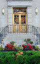 Grand Building Entrance Royalty Free Stock Photo