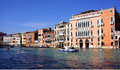 Grand canal architecture historic buildings on the in venice italy photo taken o a february Stock Photo