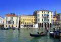 Grand Canal gondolas Royalty Free Stock Photo