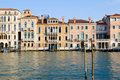 Grand canal, Venice. Royalty Free Stock Image