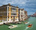 Grand canal in venice italy europe Royalty Free Stock Photography