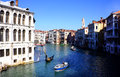 The grand canal in venice italy photo taken o a february Stock Photos