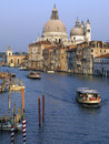 Grand canal venice italy santa maria della salute and the in the city of in northeastern the city is listed as a unesco world Royalty Free Stock Photo