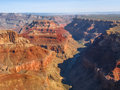 Grand canyon aerial view of national park south rim arizona usa Stock Images