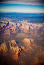 Grand Canyon aerial view. Royalty Free Stock Photo