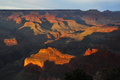Grand canyon arizona at sunset Royalty Free Stock Photography